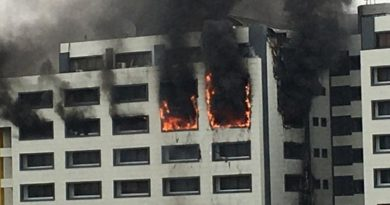 Accountant-General Of The Federation's Office In Abuja Is got burnt. 5