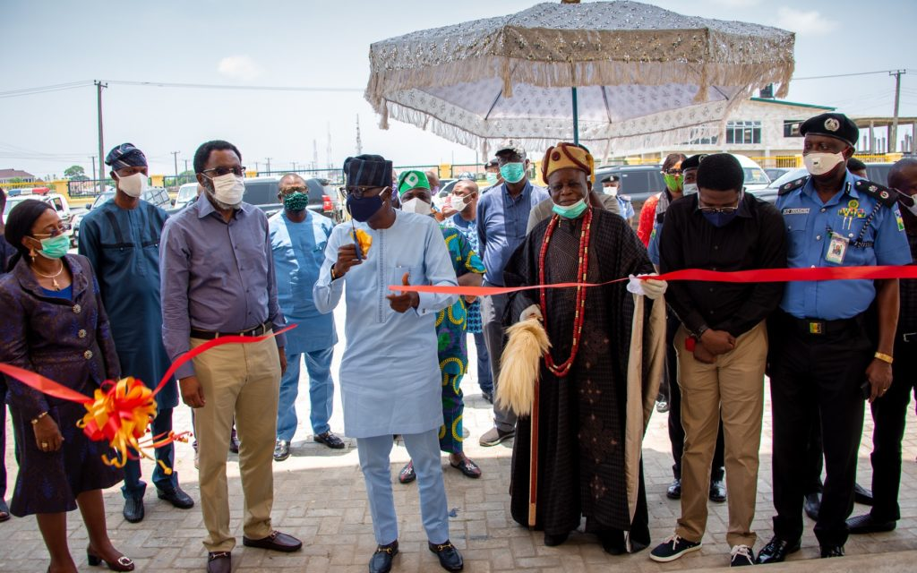 Photo News: Gov. Sanwo-Olu Commissions Area 'J'police Command, Elemoro, Ibeju-Lekki 5