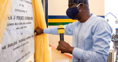 Photo News: Gov. Sanwo-Olu Commissions Area 'J'police Command, Elemoro, Ibeju-Lekki 3