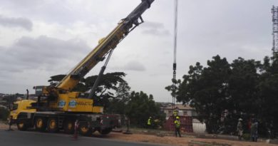 LASEMA Recovers,40feet Container Truck 3