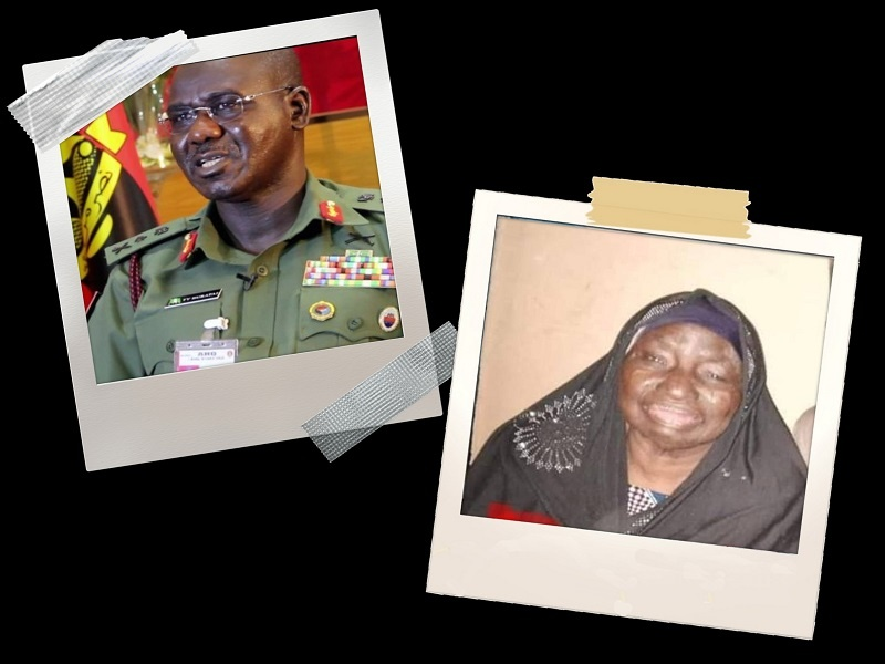 Army Chief, Tukur Buratai, Mother is Dead 2
