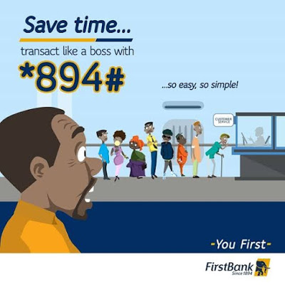 Over 9.5 Million Nigerians use Firstbank's *894# USSD Banking Service 1