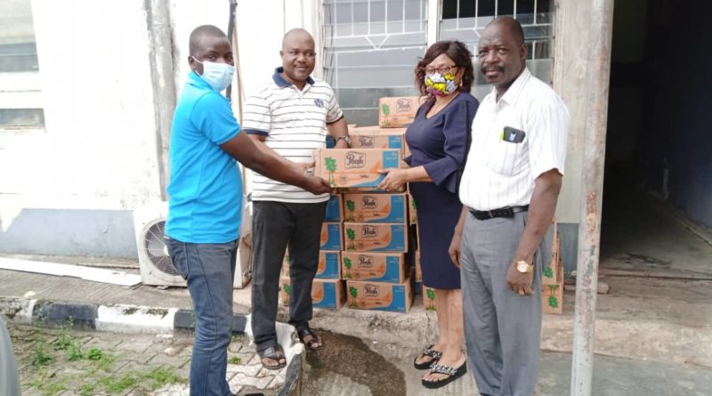 Friesland Campina WAMCO Supports Lagos NUJ With Products. 1