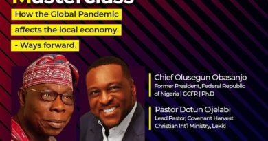 Obasanjo to Speak on The Effect of The Global Pandemic on Local Economy. 4