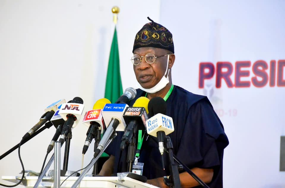 Covid-19: FG Grants 2 Months Licence Fee Waiver For Broadcast Stations 2