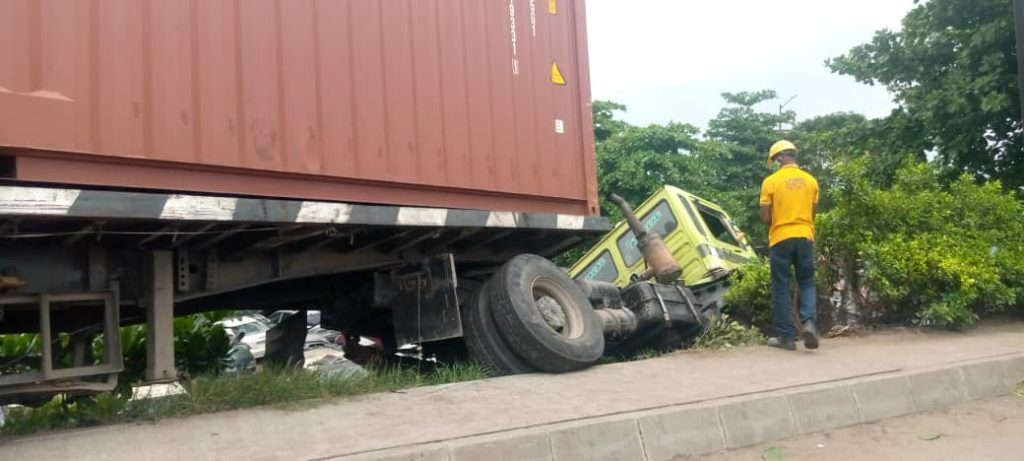 LASEMA Recovers,40feet Container 2