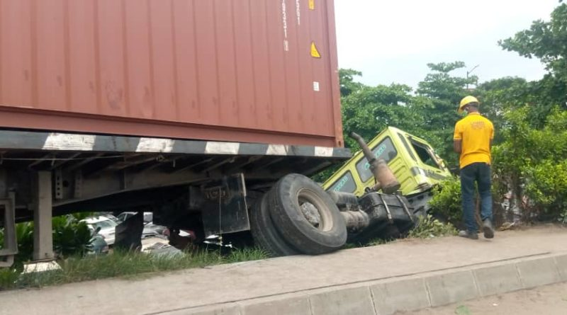 LASEMA Recovers,40feet Container 1