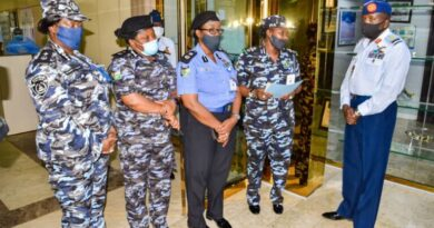 Tolulope Arotile's death: Senior female Police officers pay tribute to NAF 3