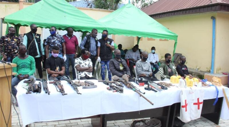 Police Arrest 35 Suspects For Kidnapping and Other Heinous Crimes 1
