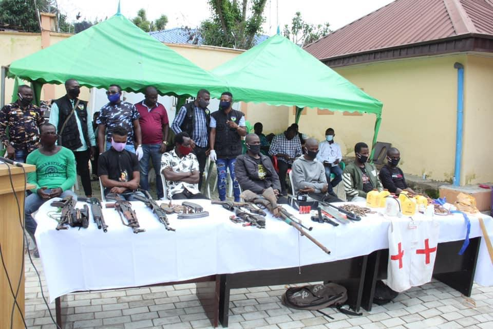 Police Arrest 35 Suspects For Kidnapping and Other Heinous Crimes 4