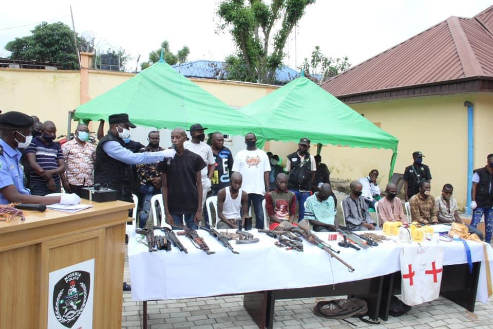 Police Arrest 35 Suspects For Kidnapping and Other Heinous Crimes 3