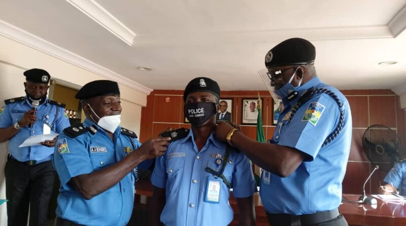 Lagos State Police Boss, Odumosu Decorates Newly Promoted Officers 1