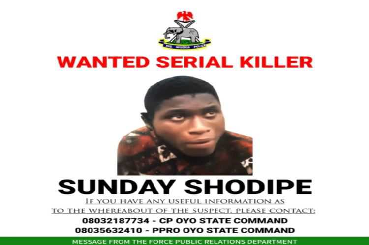 Oyo State Police Incarcerated Wanted Serial Killer, Sunday Shodipe 2