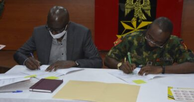 Nigerian Army Signs MOU Super Green Security LTD 5