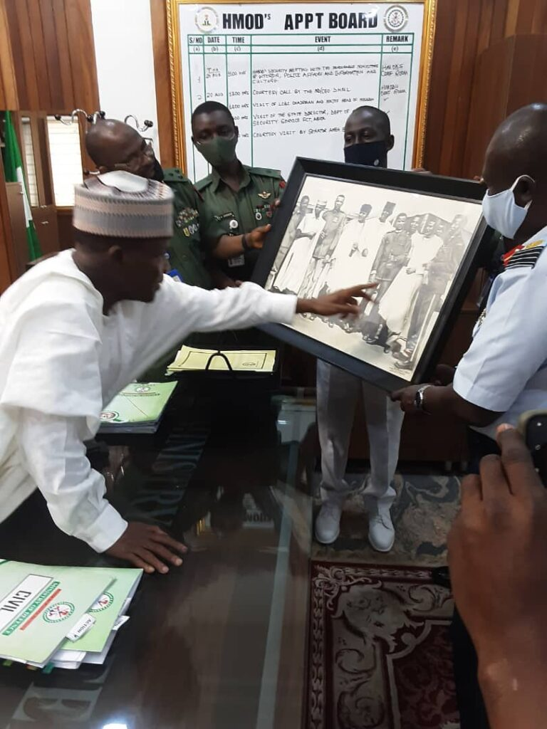 Defence Minister Vows to Reposition Defence And National Security Architecture 4