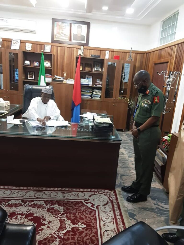Defence Minister Vows to Reposition Defence And National Security Architecture 5
