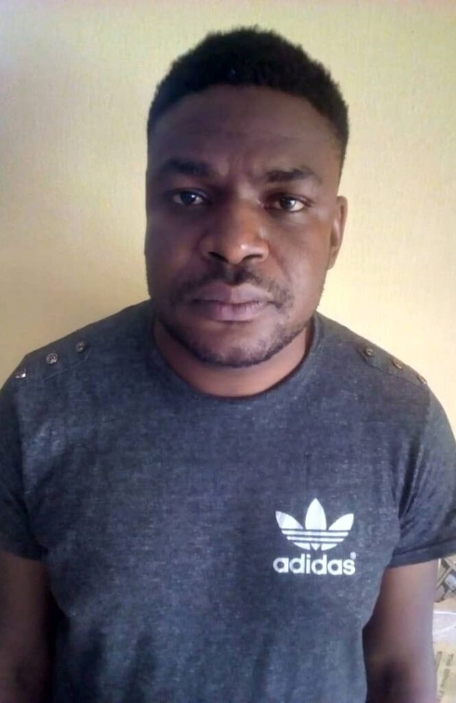 Nigeria Police Force Arrest Anthony Bamido Peter 2