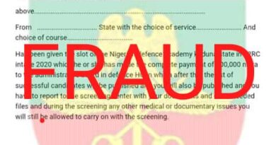 NDA Alerts Public against Admission Fraudsters 5