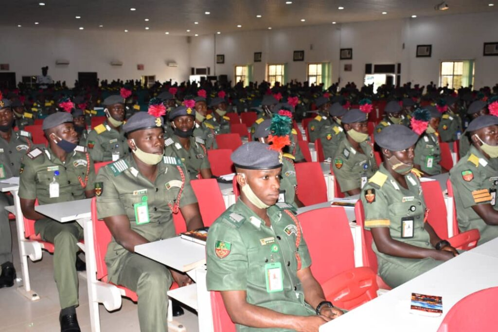 NDA Commandant Charges Passing Out Cadets on Total Loyalty to Armed Forces 2