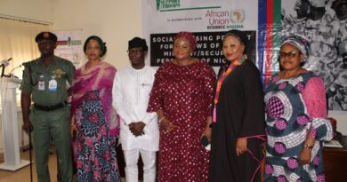 Funmi Ogbue's S.O.T Partners African Union's ECOSOCC To Deliver Housing Units To Widows Of Slain Nigerian Soldiers 4