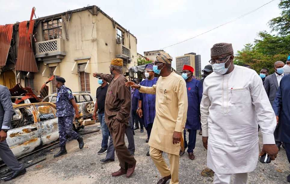 Lagos Coordinated Attacks An Attempt To Weaken Southwest Economy - Governors 4