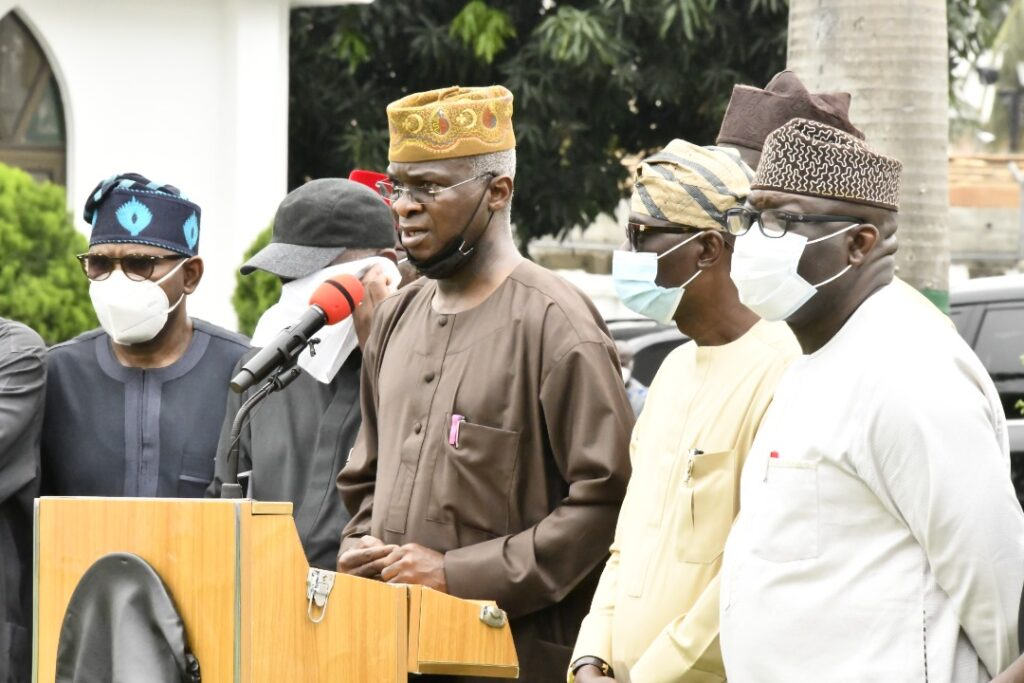 Lagos Coordinated Attacks An Attempt To Weaken Southwest Economy - Governors 5