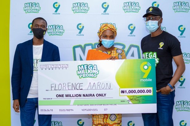 More Customers Emerge in the ongoing 9mobile Mega Millions Promo 3