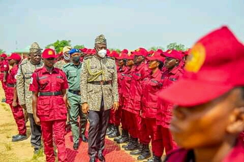 Passing-Out Parade Of Oyo Amotekun Corps; As Makinde Wears Amotekun Outfit 1