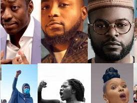#EndSARS: Activist Drags Sam Adeyemi, 2face Idibia, Falz, Kanu, Davido,45 Others To Court 10