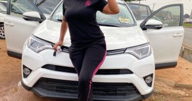 Kemi Korede Buys A New 2018 Toyota RAV4 Limited Edition 4