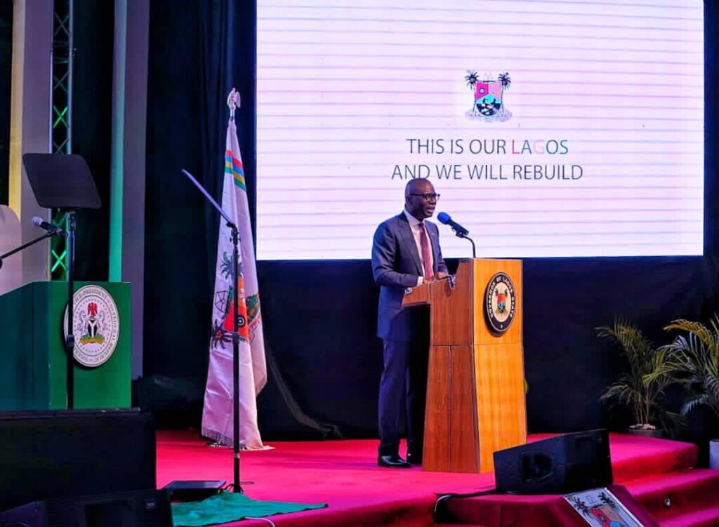 EndSARS: Sanwo-Olu Hosts Launch Of Rebuild Lagos Trust Fund 3