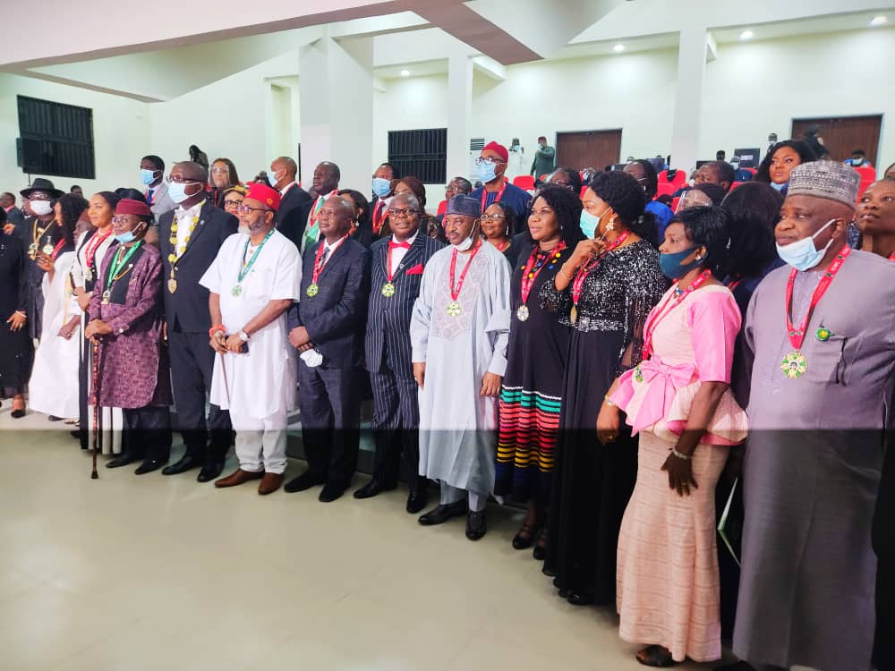 Enugu CP Inducted Fellow of Institute of Chartered Mediators and Conciliators (ICMC) 2