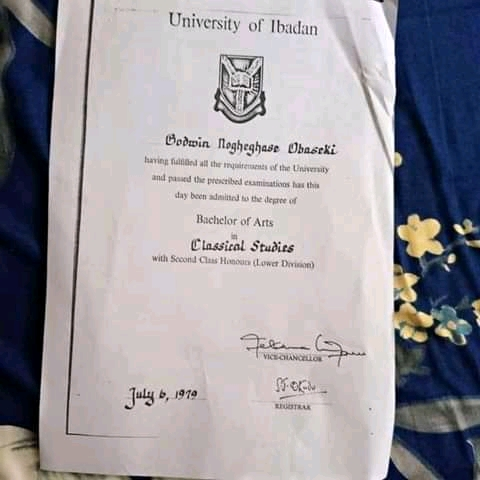 University Of Ibadan Confirms That Obaseki Graduated From The Institution 3