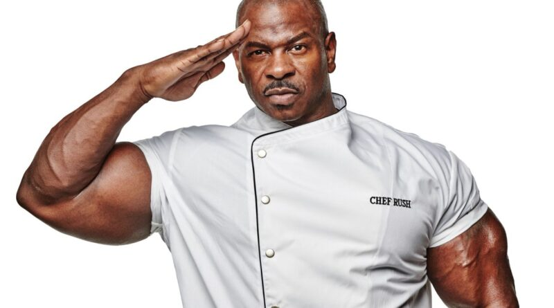 Meet Andre Rush, The White House Chef with Staggering 24-Inch Biceps 1