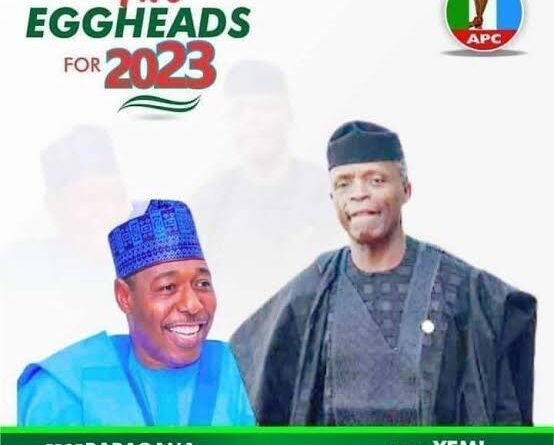 Abubakar Girei: Only Osinbajo-Zulum Ticket Can Give APC Victory In 2023 Election 1