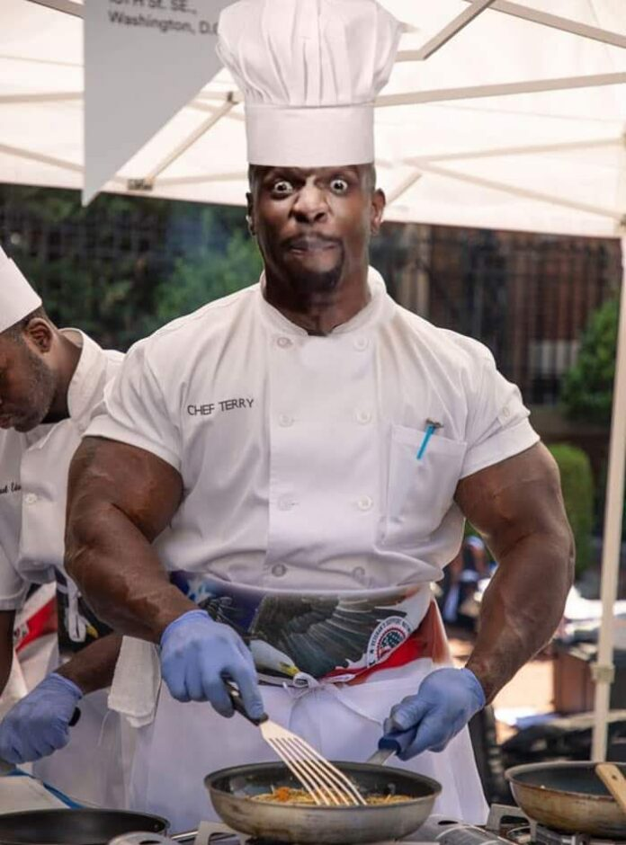 Meet Andre Rush, The White House Chef with Staggering 24-Inch Biceps 3