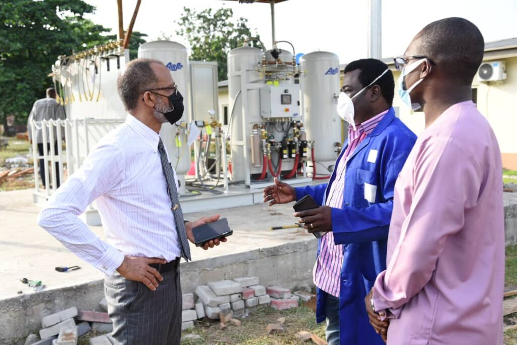 COVID-19: Lagos State Builds Oxygen Plant at IDH, Yaba 3