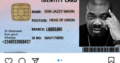 Don Jazzy Reveals His 'Stingy Men Association Of Nigeria' Identity Card, Becomes Head Of The Union 4