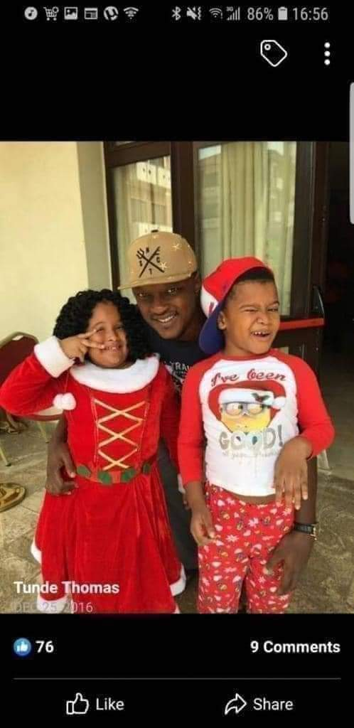 Tunde Thomas Dies After Wife Told Him Her Boss, FCMB Boss, Adam Nuru Owns Their Only Two Kids 3