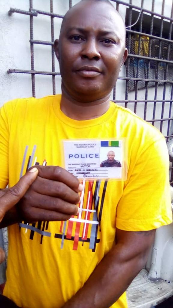 LAGOS POLICE ARREST POS ROBBERS, FAKE POLICE SERGEANT WITH INDIAN HEMP 2
