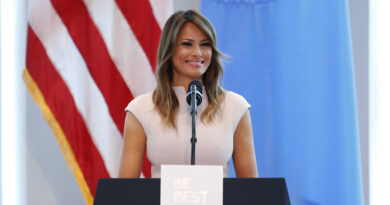 "Melania Trump Goodbye Message Promotes ""Love Over Hatred, Peace Over Violence"" 3"