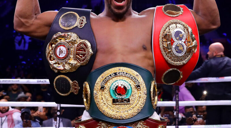 'I Would Rather Die In Battle' – Anthony Joshua Speaks Ahead Of Fury Matchup 1