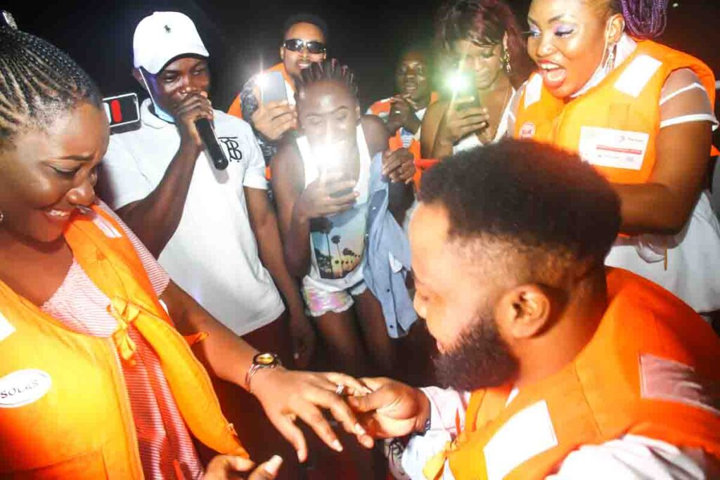 See Moments From Travelogue Valentine Boat Cruise 30