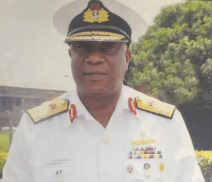 Retired Navy Top Shot, Rear Admiral Joe Aikhomu is Dead
