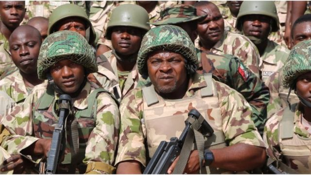 Troops Sustain Offensive Onslaught, Kill More Boko Haram/ISWAP Terrorists, Capture Arms, Ammunition In Dikwa - Ajiri Axis, Borno State 1