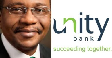 CBN Debunks Report on Planned Nationalisation of Unity Bank 4