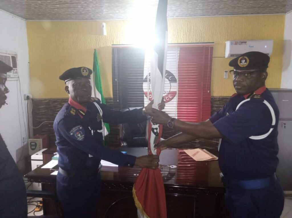 Vincent Ogu Assumes Duty As New NSCDC Anambra State Commandant 2