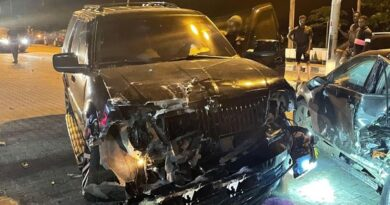 Yomi Casual Survives Car Accident 3