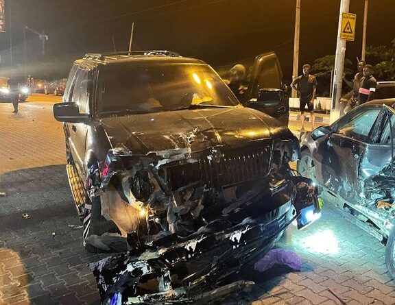 Yomi Casual Survives Car Accident 1