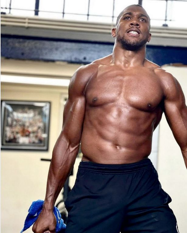 Anthony Joshua Flaunts His Incredibly Fit Physique Ahead Of Oleksandr Usyk Fight 2